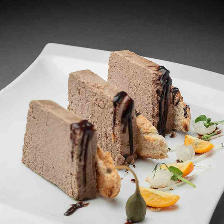 Liver pate with beef brains