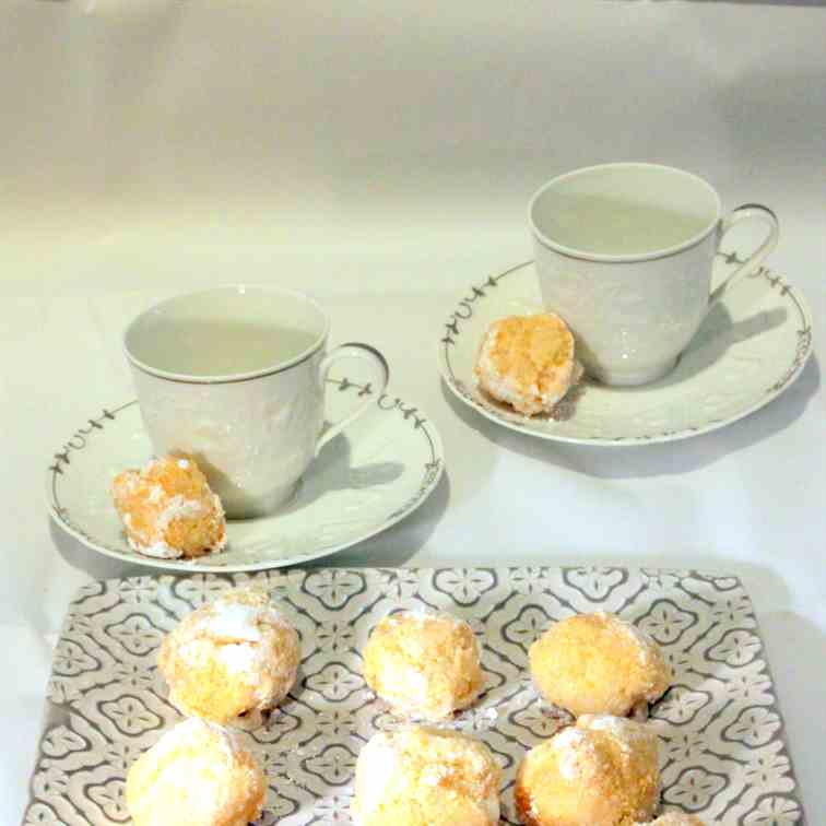 Cocos-Almond Dream Cookies