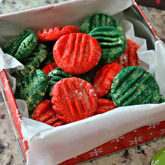 Holiday Cream Cheese Mints