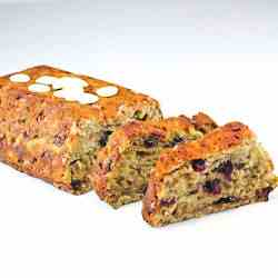 Cranberry & White Chocolate Banana Loaf