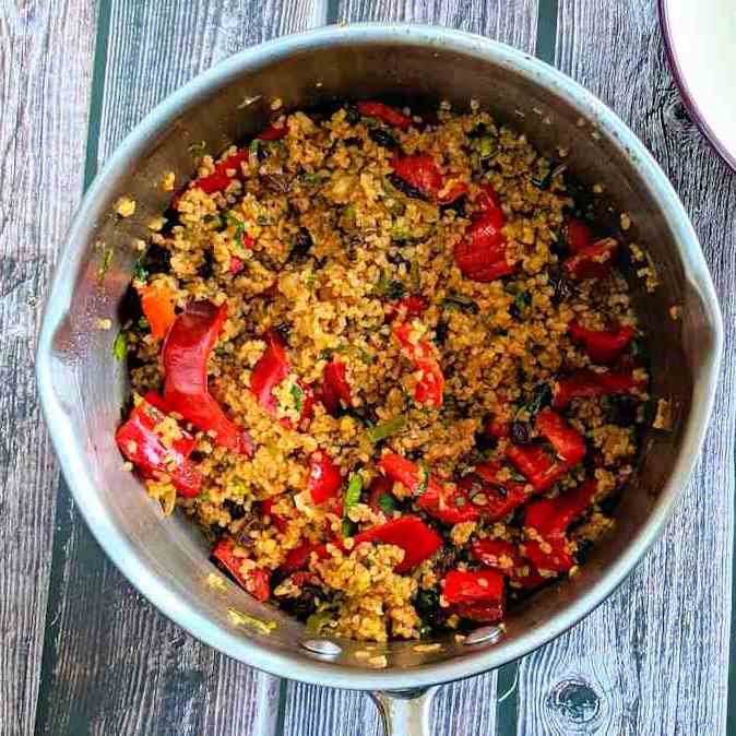bulgur wheat pilaf