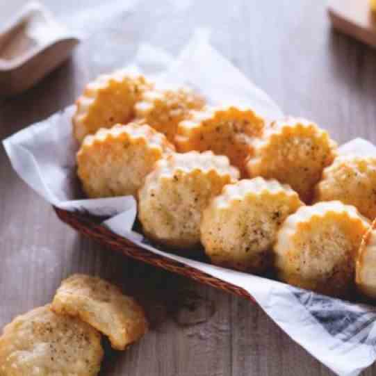 Pecorino and Parmesan Cheese Biscuits