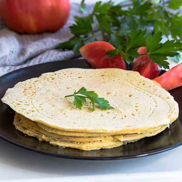 Gluten-free and Vegan Tortillas