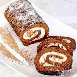 Roulade with cream cheese