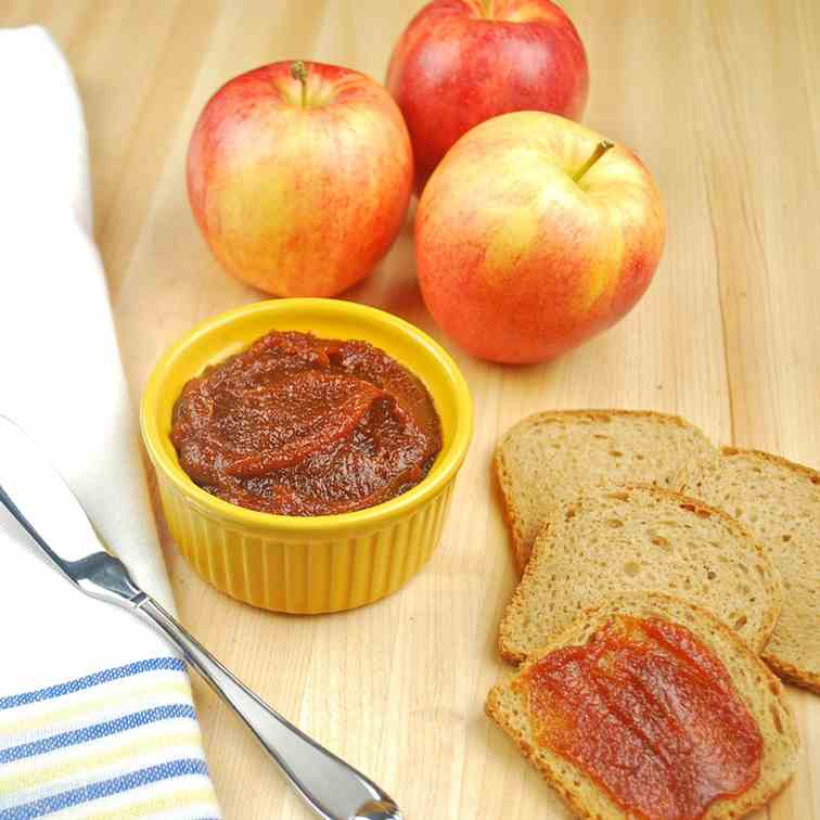 Ancho Chili Spiced Apple Butter