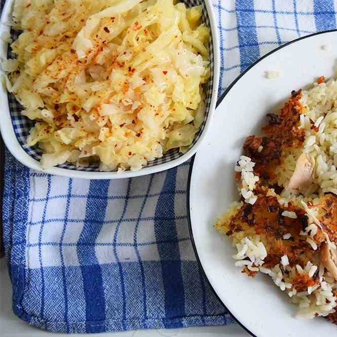 Oven-Baked Chicken Pilaf