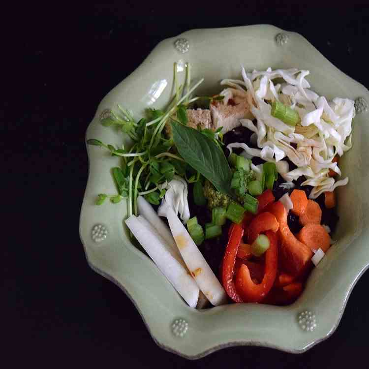 Thai Black Rice Bowl