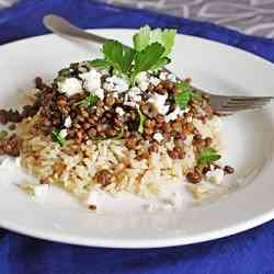 French Lentils with Feta