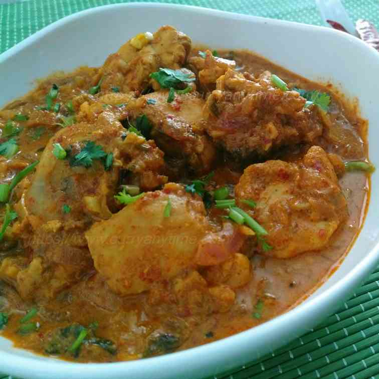Quick - Easy Chicken Curry