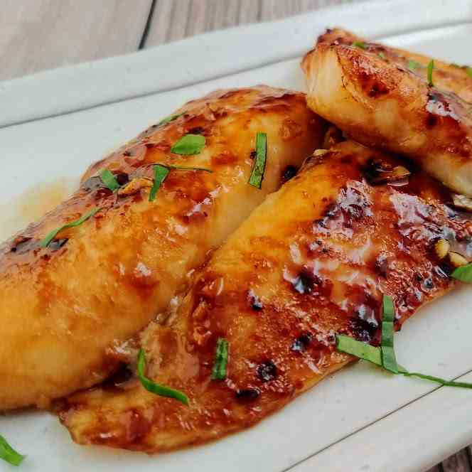 Thai Style Fish Fillet