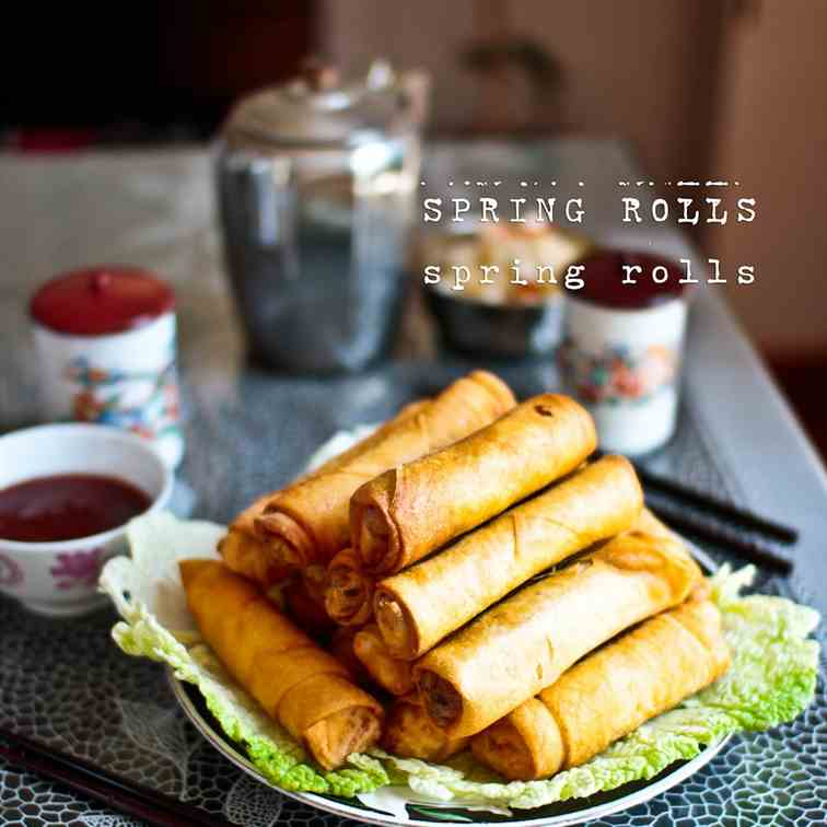 My Mother's Spring Rolls