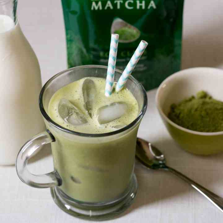 Ice Vanilla Matcha Green Tea