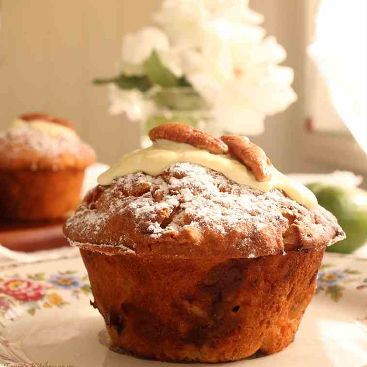 Feijoa - White Chocolate Muffins