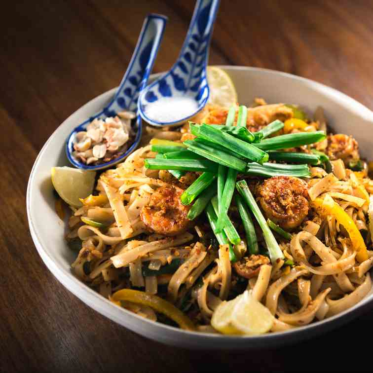 Make Authentic Pad Thai Rice Noodles At Ho