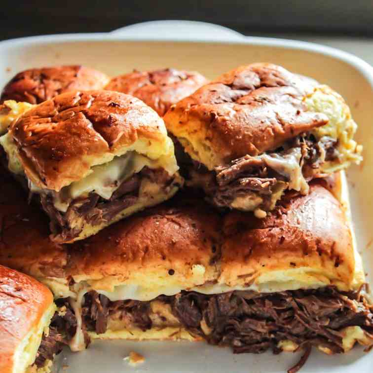 Beef Sliders with au Jus