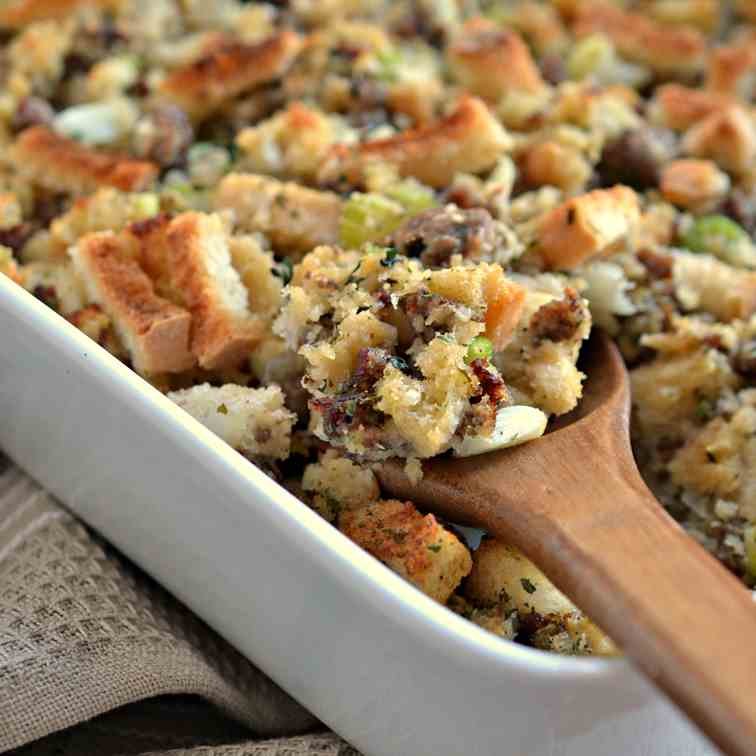 Sausage Stuffing With Fresh Herbs