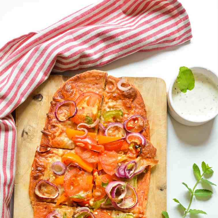 Thin Crust Whole Wheat Pizza Recipe