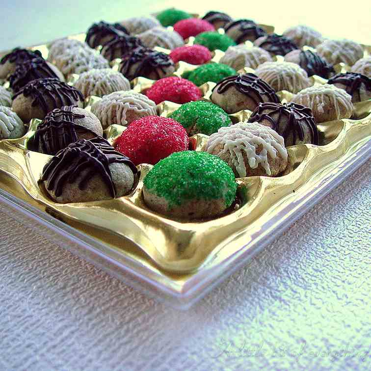Chocolate walnut candy box