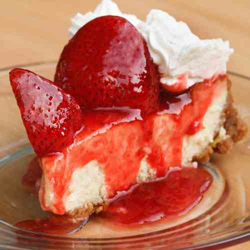Mascarpone Strawberry Cheesecake