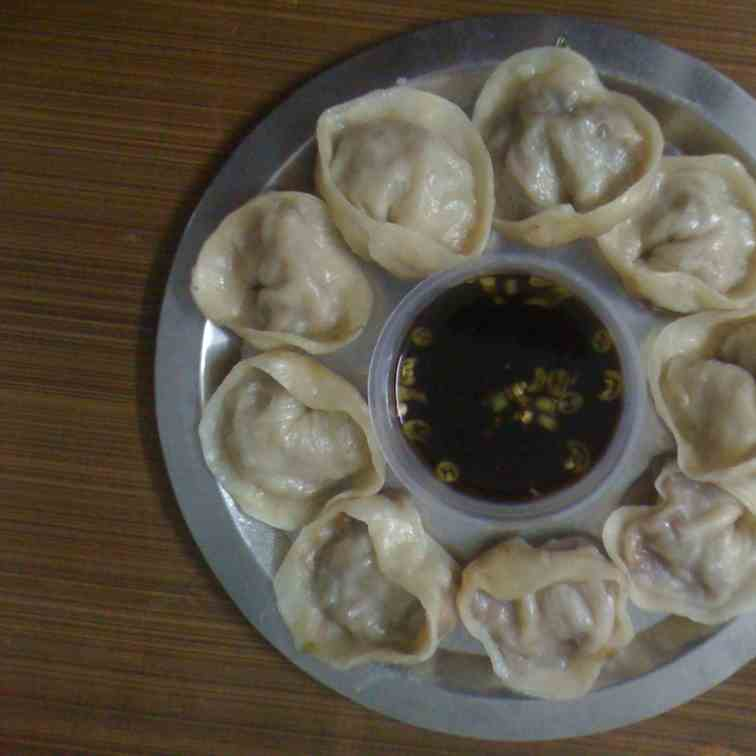 Steamed Vegetable Momos