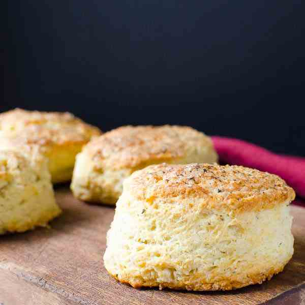 Parmesan Black Pepper Buttermilk Biscuits