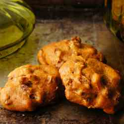 pumpkin raisin spice cookies