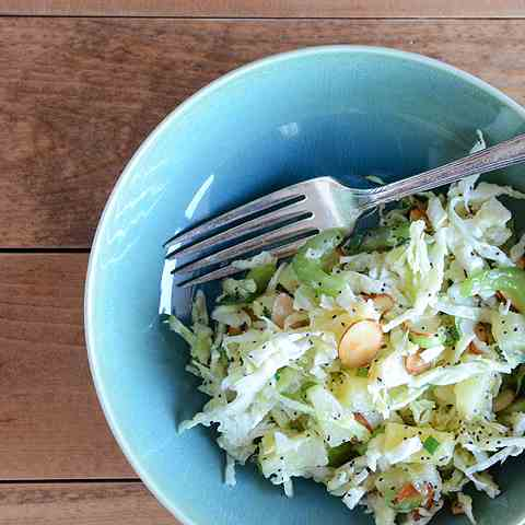 Pineapple-Almond Slaw Salad