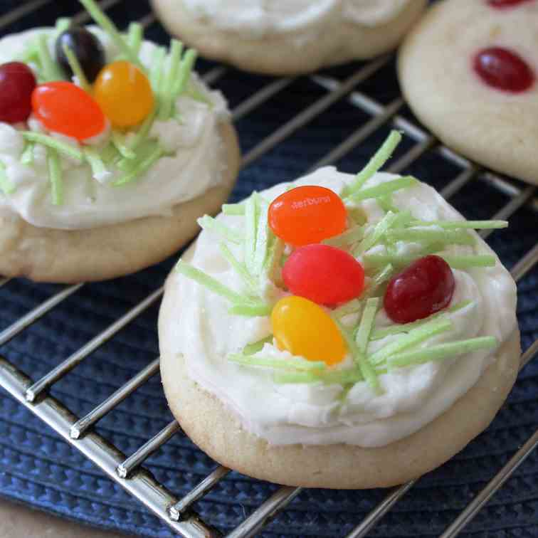 Jelly Bean Easter Cookies