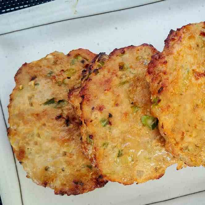 Chinese Style Ground Meat Patties