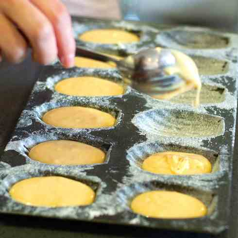MAking madeleines