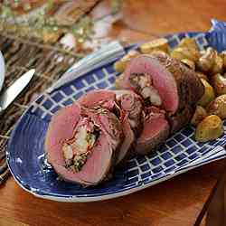 Maine Lobster Stuffed Chateaubriand