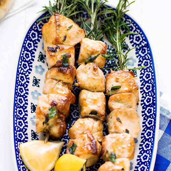 Mediterranean Chicken Skewers