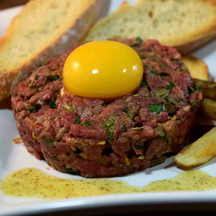 Bistro Steak Tartare at Home