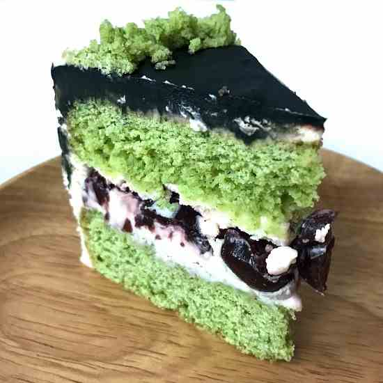 Healthy Spinach Cake