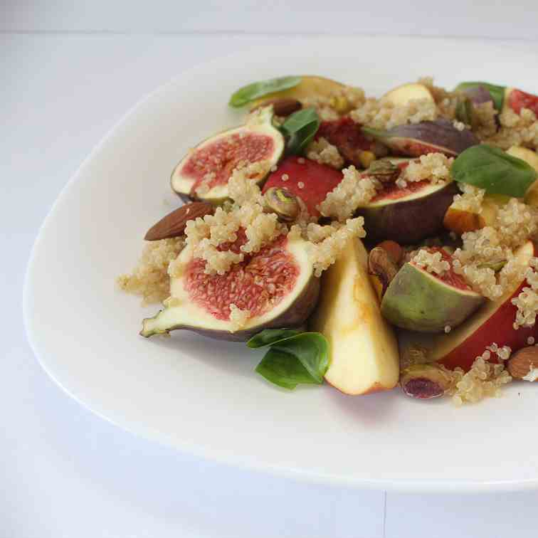 Fig & Apple Quinoa Salad