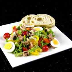 Mixed Salad and Crusty Bread