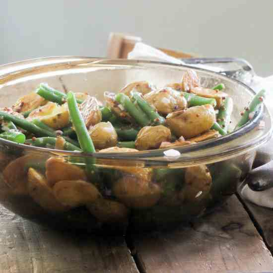 Roasted Baby Potato and Green Bean Salad