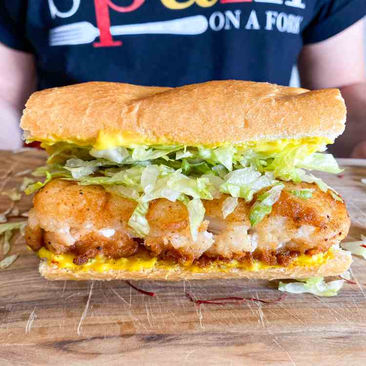 The ULTIMATE Fried Fish Sandwich