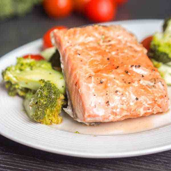 Oven Poached Salmon