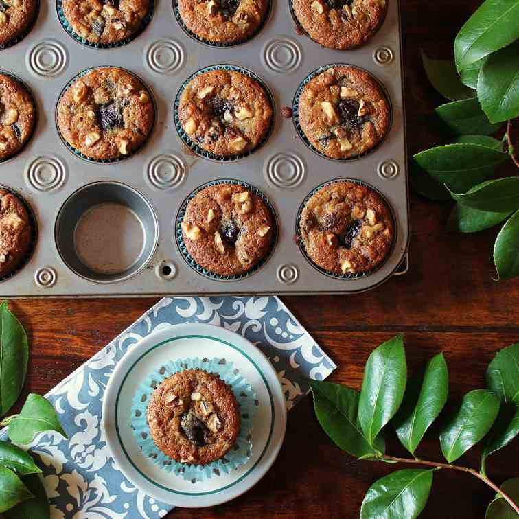 Best Banana Cherry Muffins