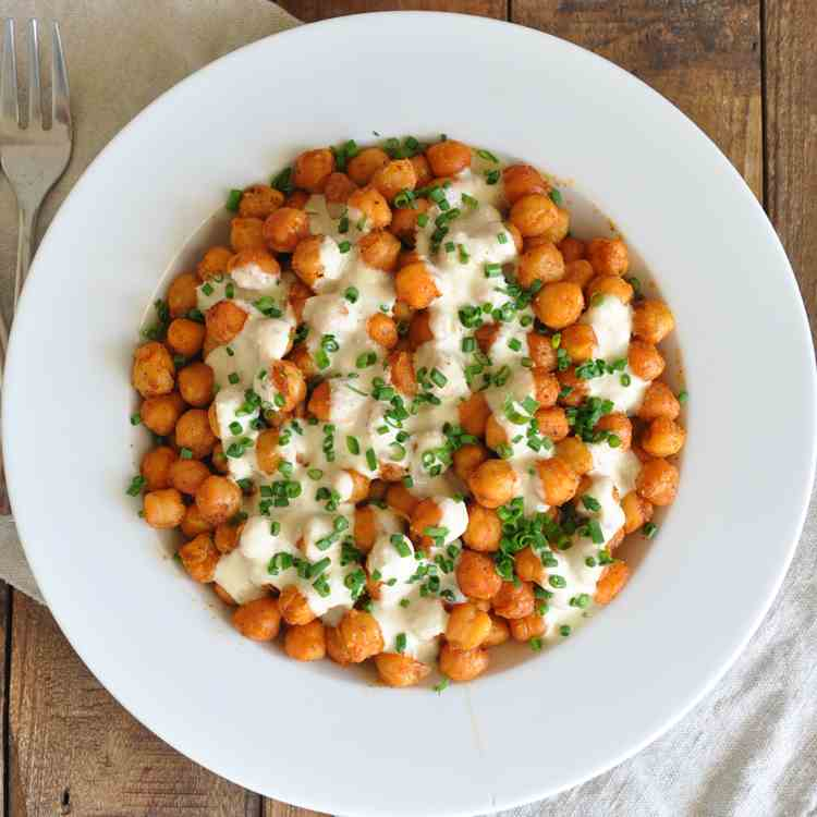 Roasted Spanish Garbanzo Beans