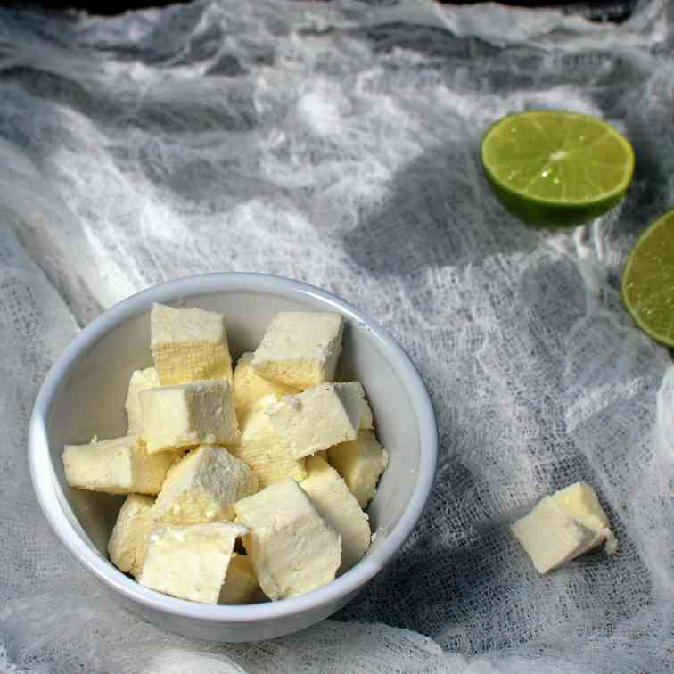 Homemade Paneer - Indian Cottage Cheese