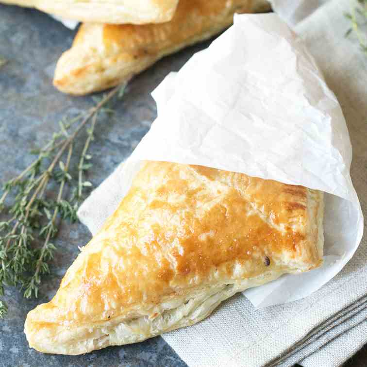 Black Pepper Steak Hand Pies