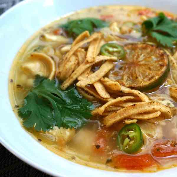 Sopa de Lima - Mexican Chicken Lime Soup