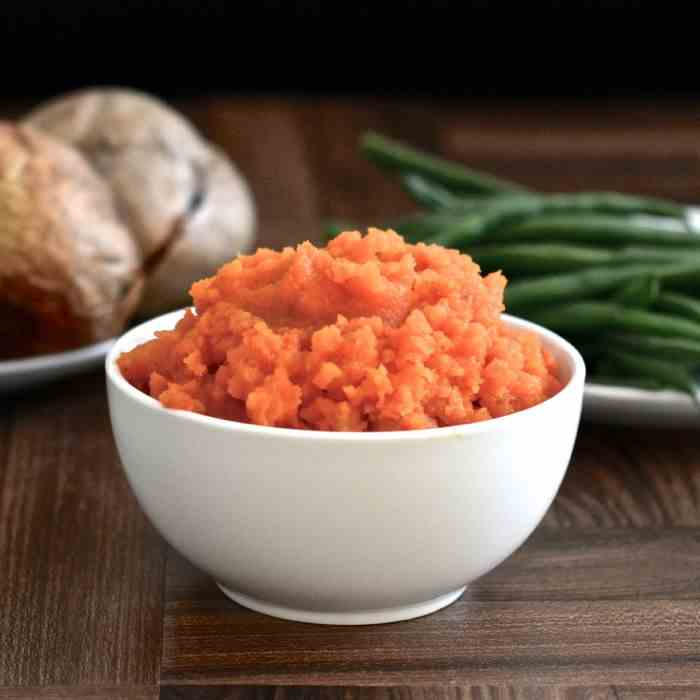 Roasted Carrot and Mash