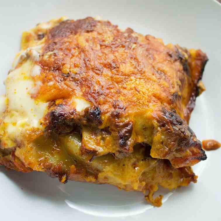 Homemade Classic Beef Lasagne