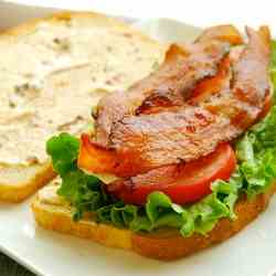 BLT with Chipotle Mayo