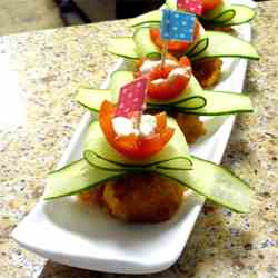 Flower Pinchos for Mother's Day?