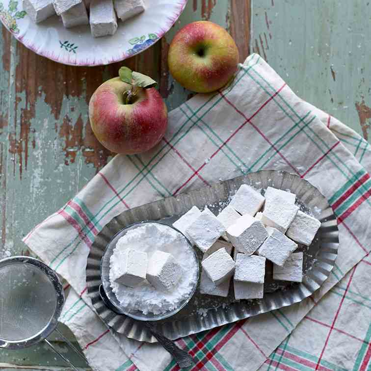 Caramel Apple Marshmallows