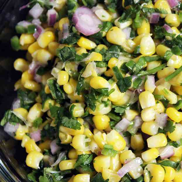Chipotle's Jalapeno Lime Corn Salad